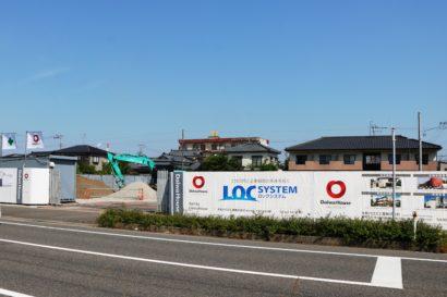 新潟市東區牡丹山に貸店舗が建設中 | にいがた経済新聞