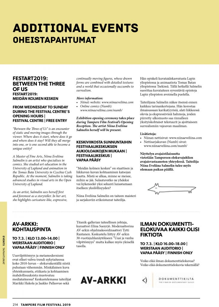 TFF Programme catalogue feature