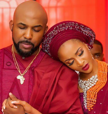 Adesua gushes over husband, Banky W for making her a mouth watering meal
