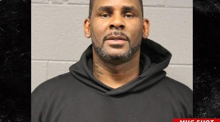 R.Kelly's mugshot released after sexual abuse arrest