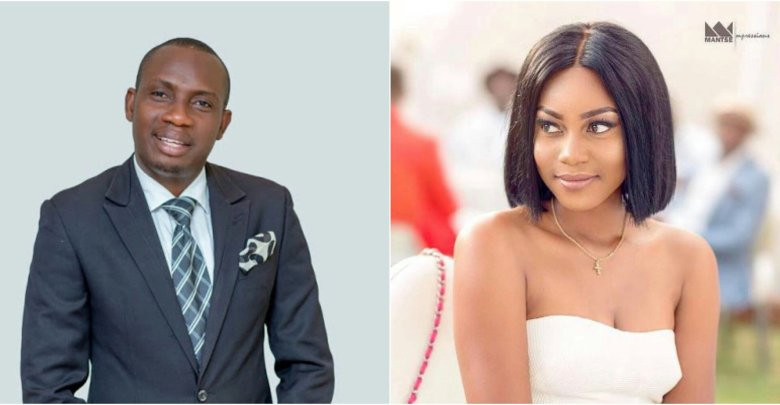 """""""I blame Counselor Lutterodt's wife for some of the distasteful things he says about people""""- Yvonne Nelson"""