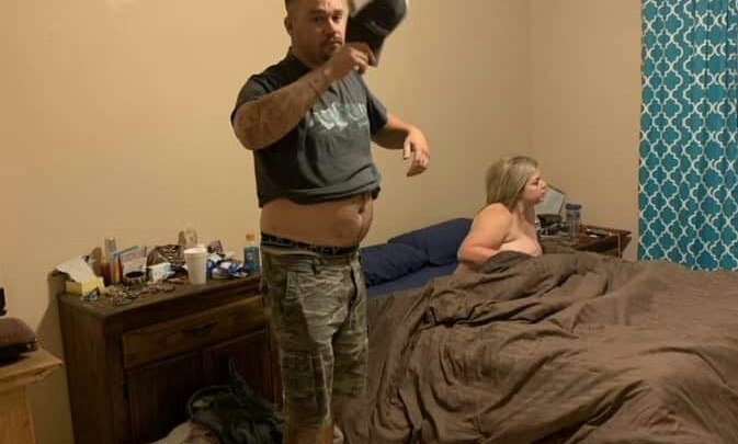 [PHOTOS] Man Catches His Wife Of 10 Years Having Sex With Another Man
