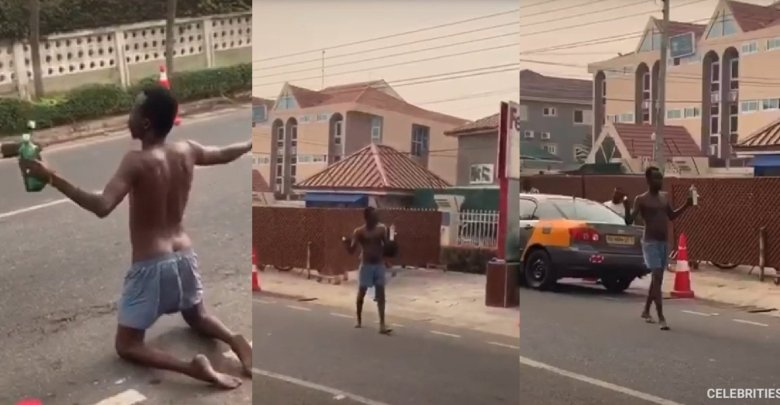 Sakawa boy curses FedEx workers who stole an iPhone he scammed from a white 'Client' upon arrival in Ghana