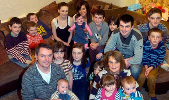 Britain's largest family welcome baby number 22, a girl