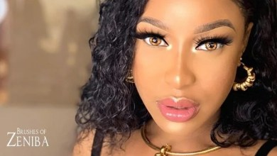 Photo of Tonto Dikeh threatens to slap the brain of a follower who accused her of doing fake giveaway