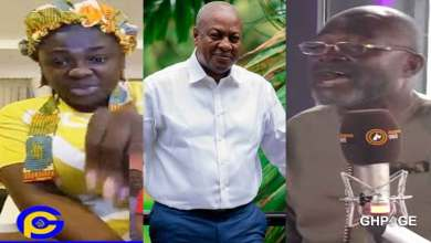 Photo of Tracey Boakye replies Ken Agyapong after saying his comments about her and Mahama was a joke
