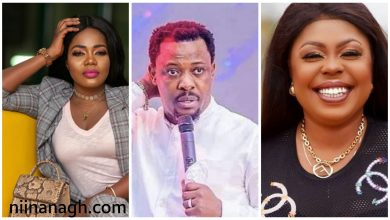 Photo of Afia Schwarzenegger Says Prophet Nigel Gaisie Slept With Mzbel Inside His Church