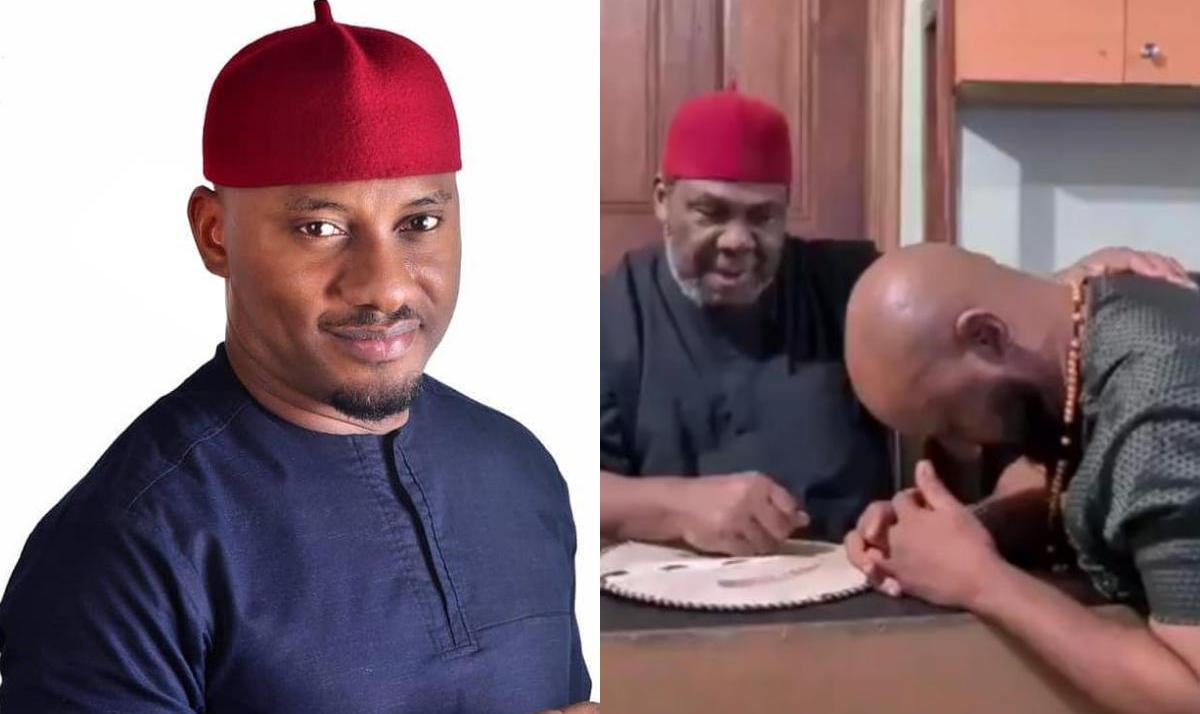 Pete Edochie Endorses Yul Edochie Presidential Ambition