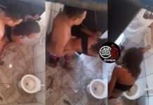 Photo of Watch What Father Did To His Daughter After Seeing Her In Public Washroom With A Man