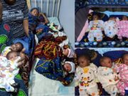 woman gives birth to quadruplets after 16 years of marriage