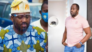 Photo of Wetin them talk say I do again ?' – Desmond Elliot asks