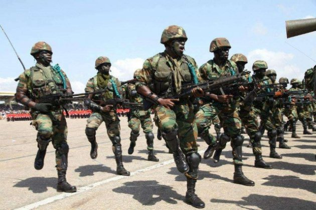 Ghana Armed Forces Recruitment 2019