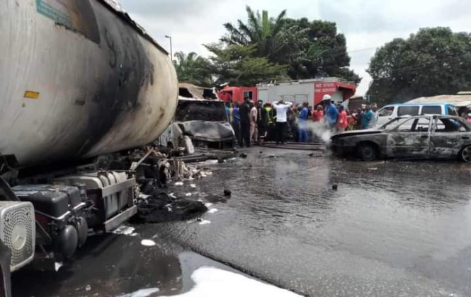 Nursing student reportedly dies after a petrol tanker explosion