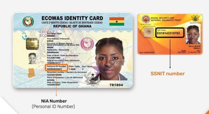 How To Merge Your SSNIT And NIA Numbers Using Your Phone