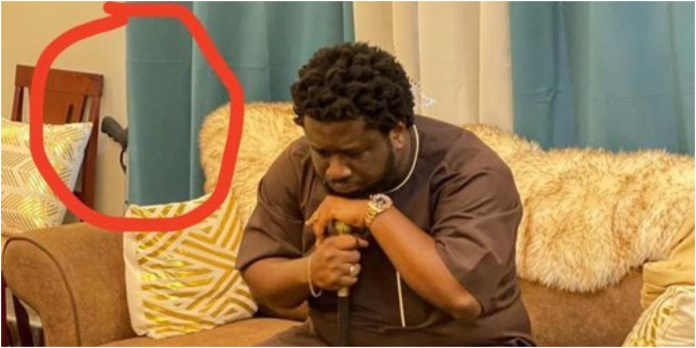 Prophet Ajagurajah spotted with gun in his room and people are wondering why a man of God who tells members to call on God for protections owns gun