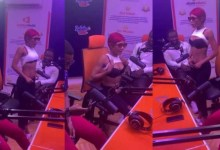 Photo of Repented Akuapem Poloo At It Again As She Displays Her Raw Goodies On Live Radio During An Interview
