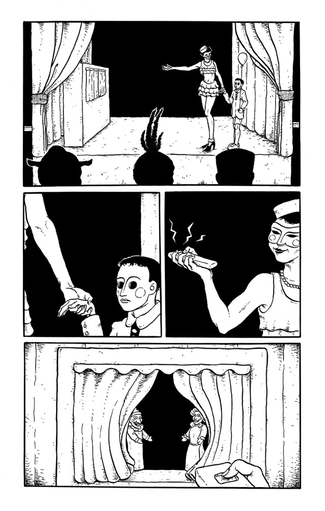 Page 6 of the comics story Kit Kaleidoscope Goes to the Masked Ball