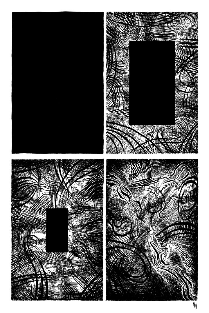 Metaphor 1 abstract comic