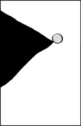 unbalanced vertical panel