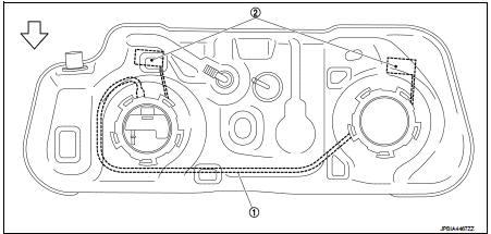 Fuel level sensor unit, fuel filter and fuel pump assembly