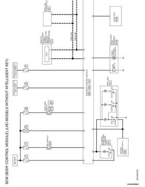 BCM  Wiring diagram  Body Control System Without