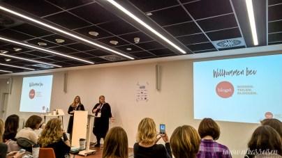 Ricarda & Clara eröffnen die Konferenz
