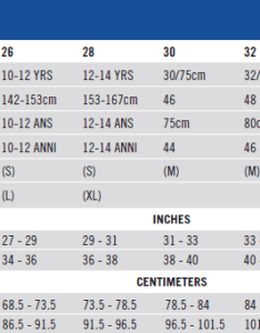 Size chart also nike water polo solids brief rh nikeswim