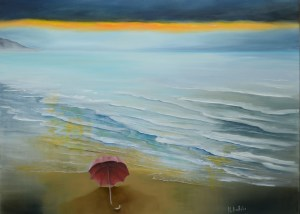 expressionist sea painting