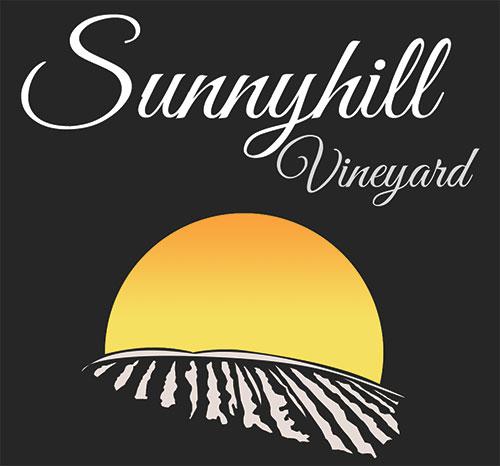 Sunnyhill Vineyard logo creation