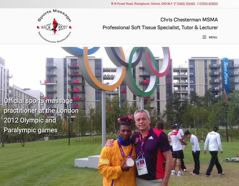 New website for Chris Chesterman