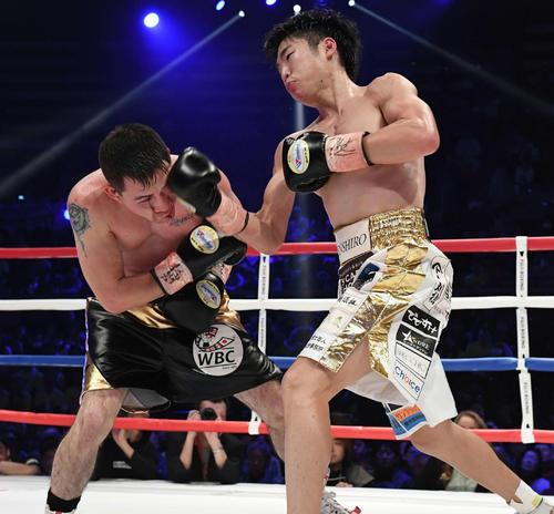 拳四朗V5「ボクシングトリプル世界戦」6・3% - ボクシング ...