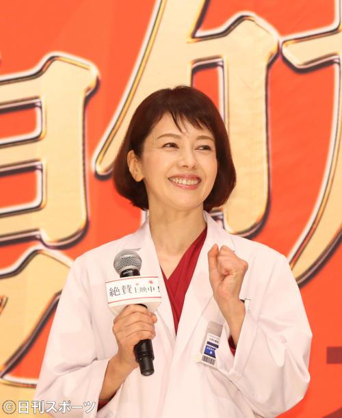沢口靖子「科捜研の女」第1話12・8%好発進 マリコに異動話が舞い込む