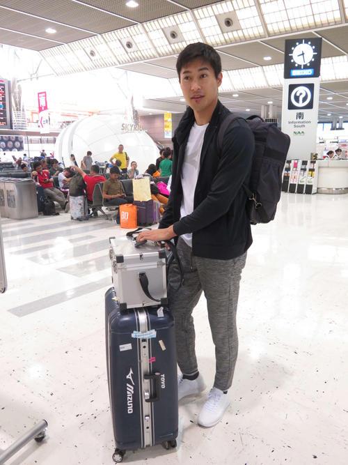 飯塚翔太は水素吸引器で疲労回復 欧州遠征に出発