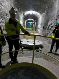 フィンランドでは核のごみの最終処分に向けた実験が進む(同国南西部オルキルオト)