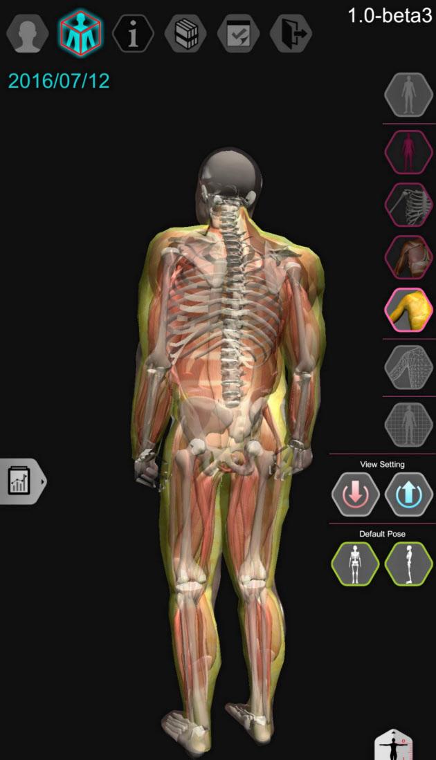 脫がずに人體透視 スマホで全身を3D表示 :日本経済新聞