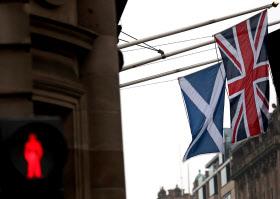 スコットランドでは英国からの独立機運が再び高まっている=AP