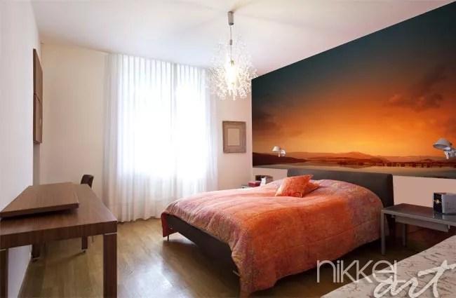 foto behang voor je slaapkamer natuur