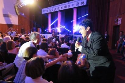 昔からのファンが集まり、会場は熱狂の渦。サンパウロの凱旋公演は大成功