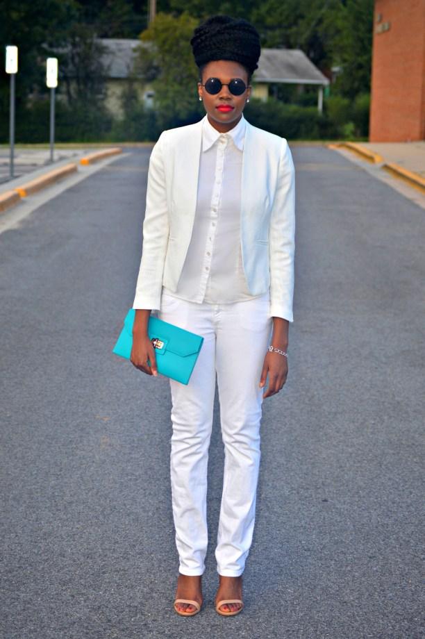 Nikki Billie Jean All White Suit 1