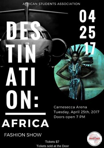 Saint John's University African Student Association Destination Africa 2017