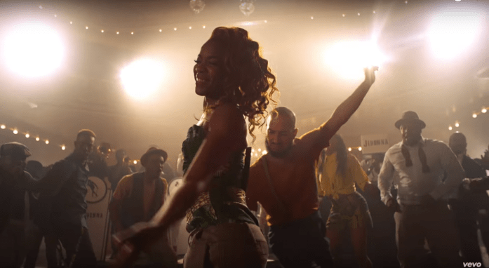 Nikki Billie Jean Spotted in Jidenna Knickers Music Video 3