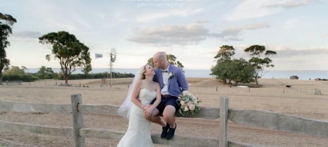 Featured Wedding – Ally + Dan – Churchill Island, Phillip Island