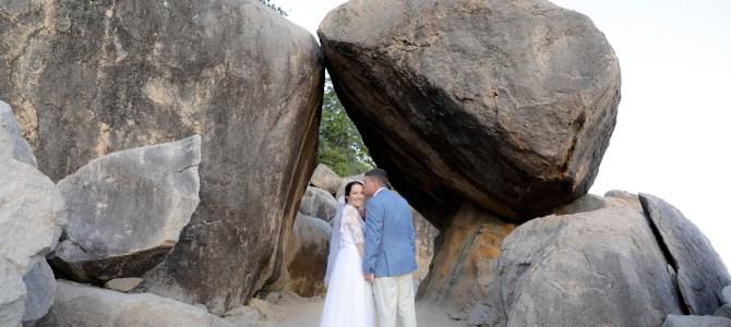 Featured Wedding – Lisa + Mick – Arcadia Rocks, Magnetic Island