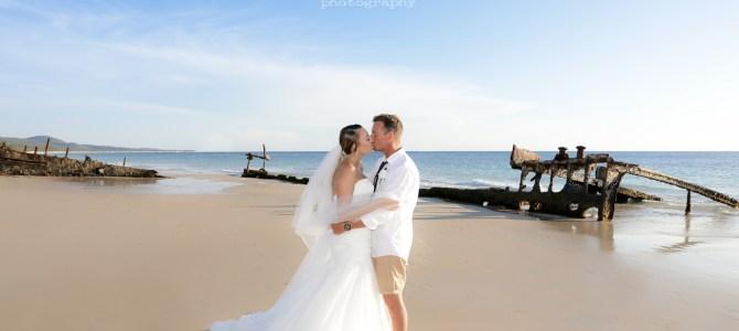 Featured Wedding – Alira + Reid – Tangalooma, Moreton Island