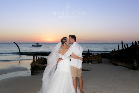 NIKKI BLADES PHOTOGRAPHY - Tangalooma Moreton Island Wedding Photographer