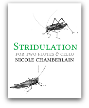 Compositions by Nicole Chamberlain, Composer