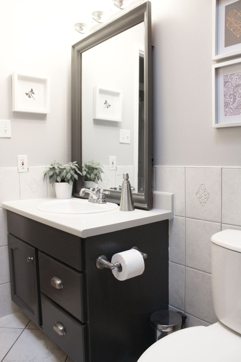 How To Update a Bathroom on a Budget