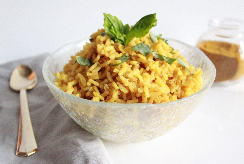 Easy and Healthy Curry Rice - www.nikkisplate.com