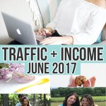 June 2017 Traffic and Income Reports on Nikki's Plate Blog