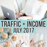 July 2017 Traffic and Income Report